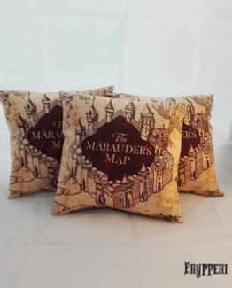 Cuscino Mappa del Malandrino