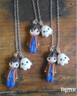 Collana Dr Who Adipose