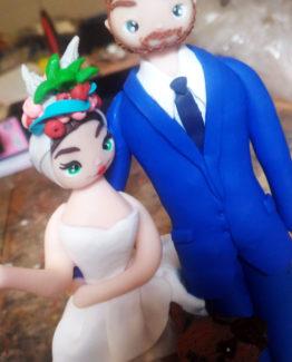 Cake topper statuine personalizzate carmen miranda