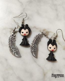 orecchini Maleficent frypperi
