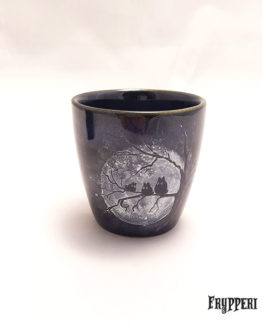 Tazza Giapponese Totoro nero Frypperi