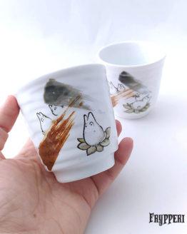 Tazza Giapponese Totoro Pennello
