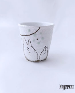 Tazza Giapponese Doppio Totoro Fiore
