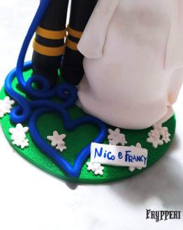 Cake Topper Pompiere Farmacista Personalizzato