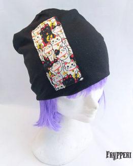 Cappello Cuffia Gatto Maneki Neko