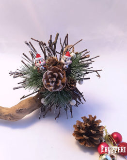 Decorazione Natale Cip e Ciop