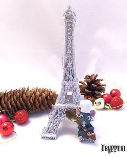 Decorazione Natale Torre Eiffel Ratatouille