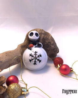 Palline Campanella Natale Jack