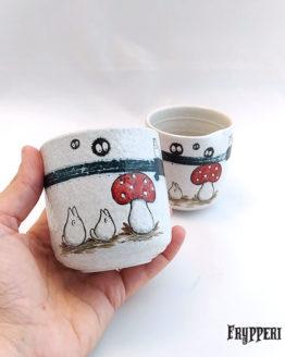 Tazza Giapponese Totoro Funghi