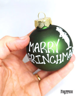 Pallina Natale Grinch