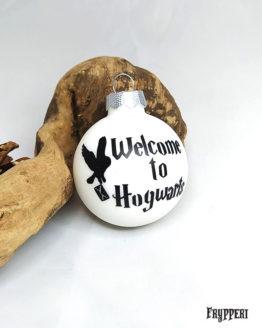 Pallina Natale Harry Potter Hogwarts