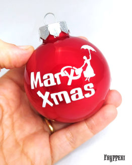 Pallina Natale Mary Poppins