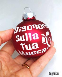 Pallina Natale Mushu