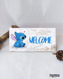 Targhetta Nome Personalizzato Stitch