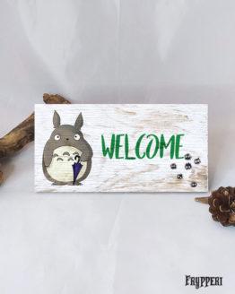 Targhetta Nome Personalizzato Totoro